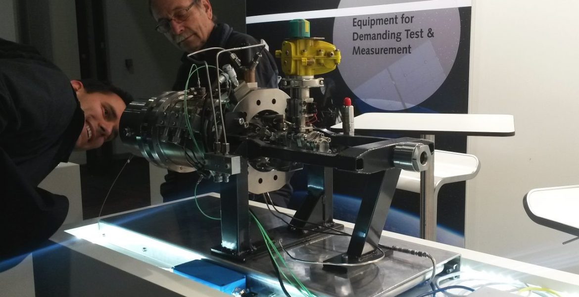 SPL shows it's 10kN engine at Spacetech Expo in Bremen